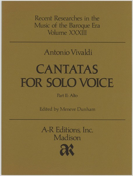 Vivaldi: Cantatas for Solo Voice, Part 2