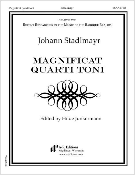 Stadlmayr: Magnificat quarti toni