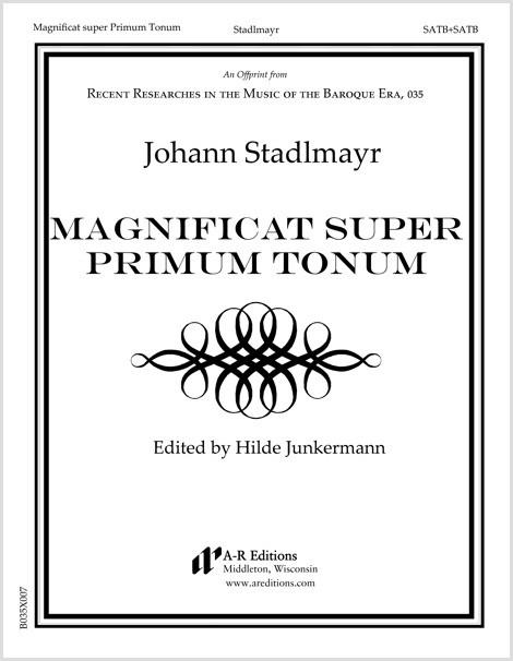 Stadlmayr: Magnificat super Primum Tonum
