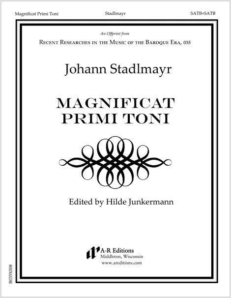 Stadlmayr: Magnificat Primi Toni