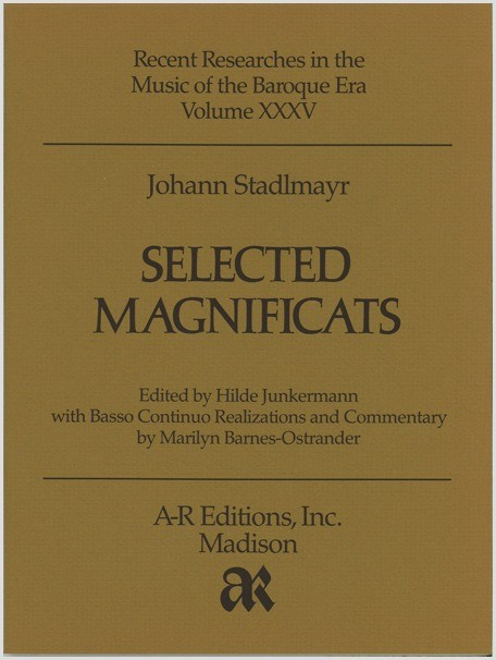 Stadlmayr: Selected Magnificats