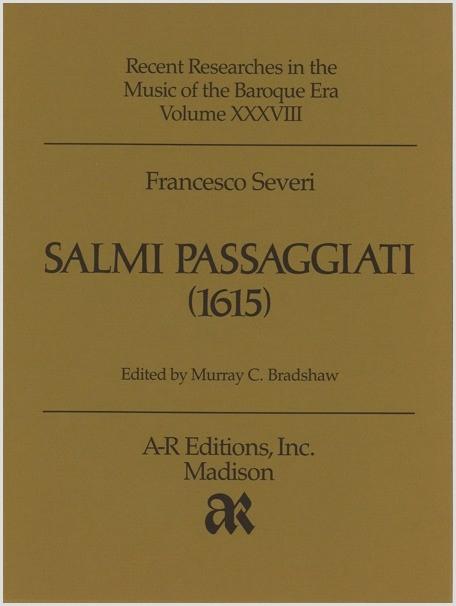 Severi: Salmi passaggiati (1615)