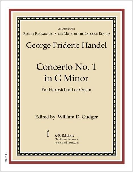 Handel: Concerto No. 1 in G Minor