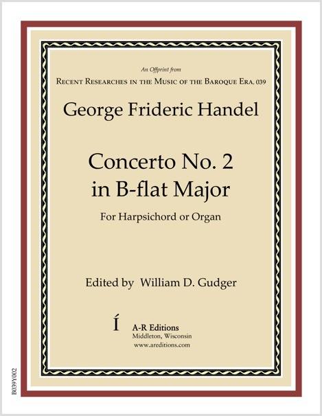 Handel: Concerto No. 2 in B-flat Major