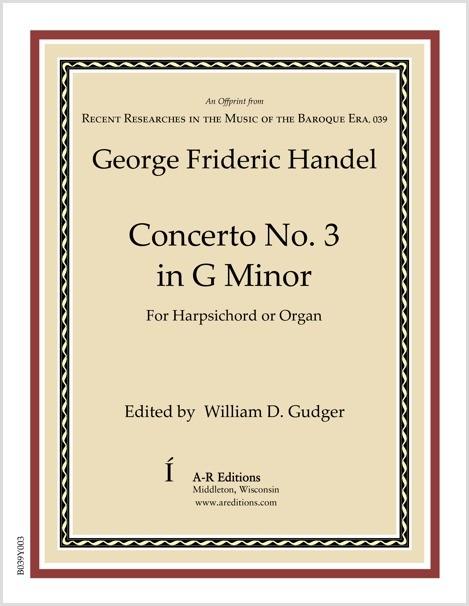 Handel: Concerto No. 3 in G Minor