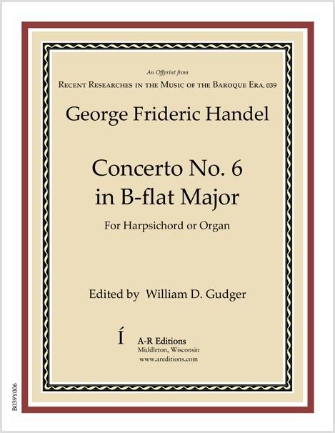 Handel: Concerto No. 6 in B-flat Major