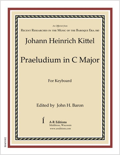 Kittel: Praeludium in C Major