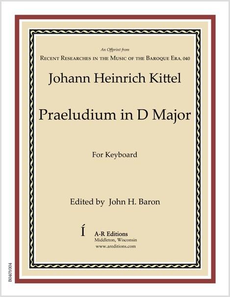 Kittel: Praeludium in D Major