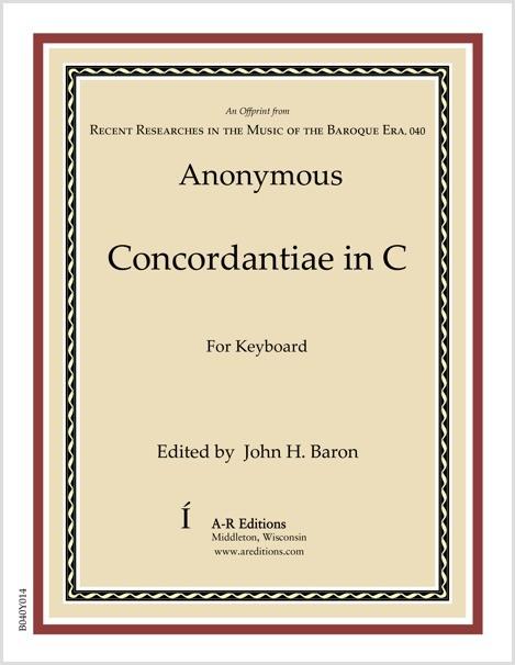 Anonymous: Concordantiae in C