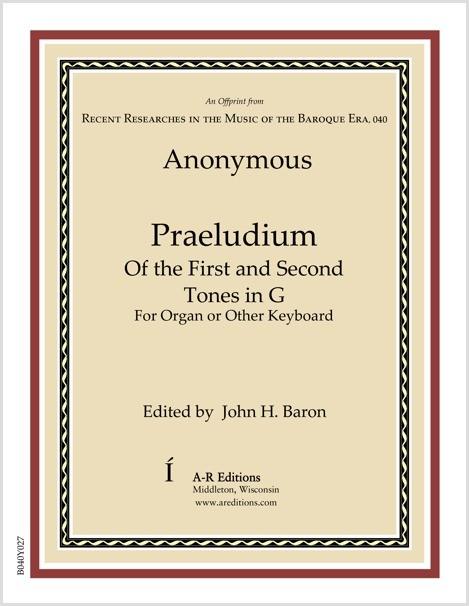 Anonymous: Praeludium