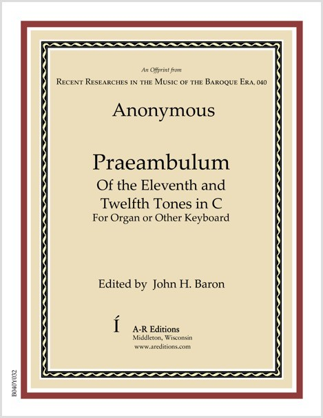 Anonymous: Praeambulum