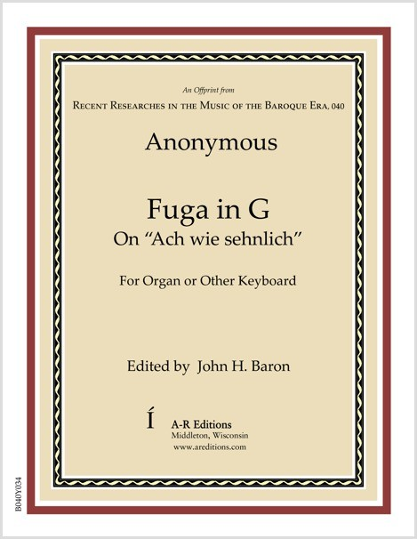 Anonymous: Fuga in G
