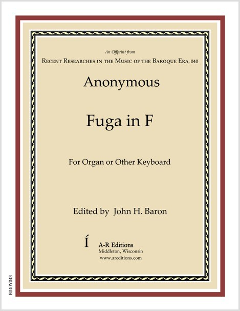 Anonymous: Fuga in F