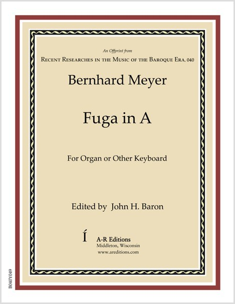 Meyer: Fuga in A