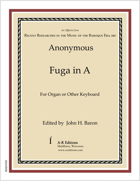 Anonymous: Fuga in A