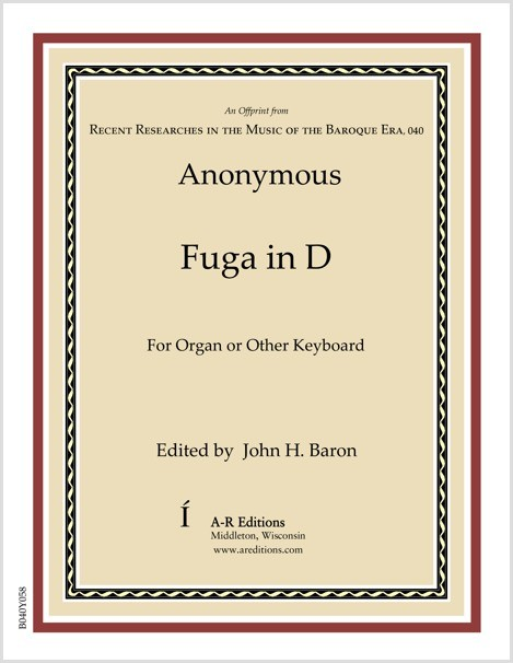 Anonymous: Fuga in D