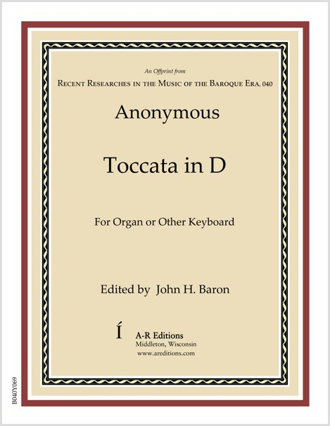 Anonymous: Toccata in D