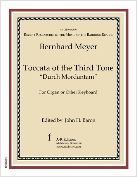 Meyer: Toccata of the Third Tone