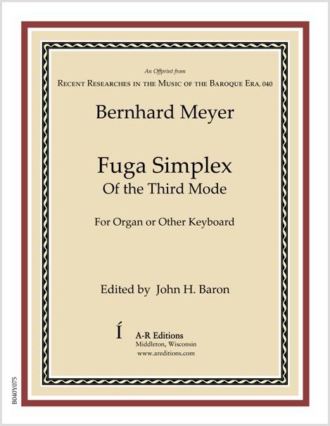 Meyer: Fuga Simplex