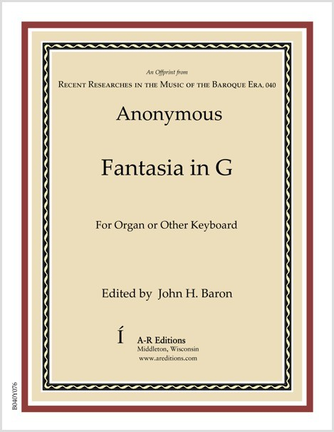 Anonymous: Fantasia in G