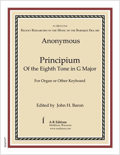 Anonymous: Principium