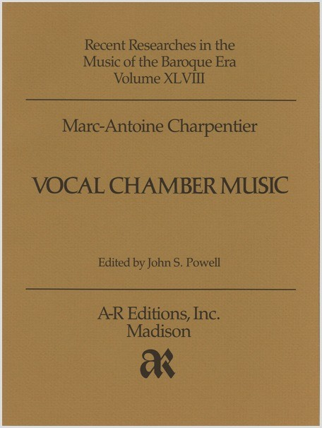 Charpentier: Vocal Chamber Music