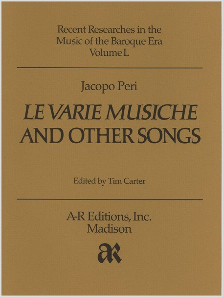 Peri: Le varie musiche and Other Songs