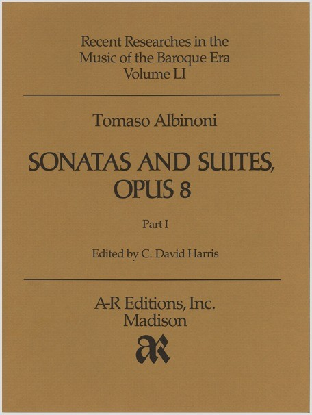 Albinoni: Sonatas and Suites, Op. 8, Part 1