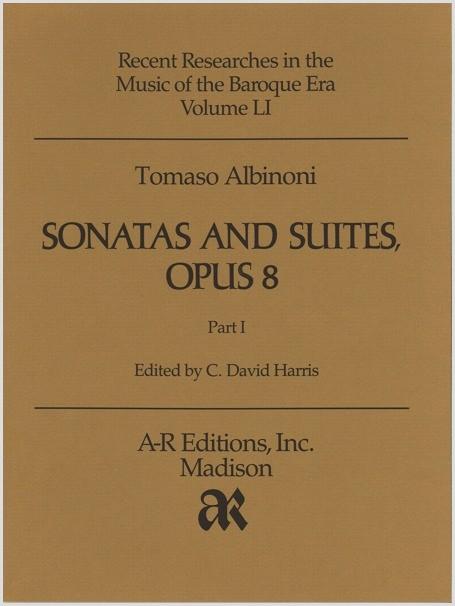 Albinoni: Sonatas and Suites, Opus 8