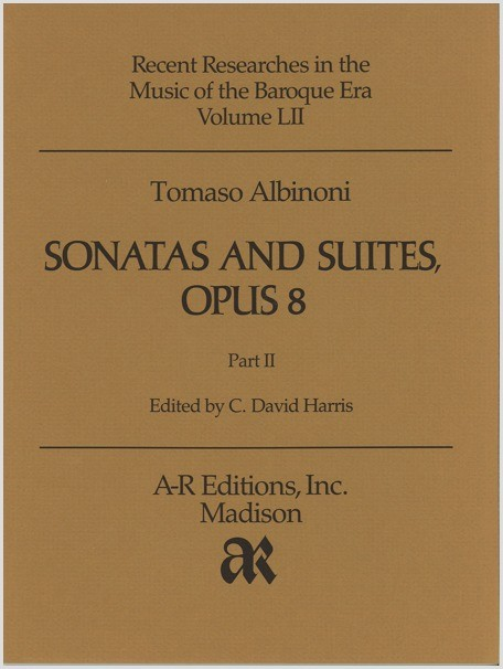 Albinoni: Sonatas and Suites, Op. 8, Part 2