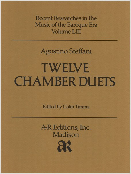Steffani: Twelve Chamber Duets