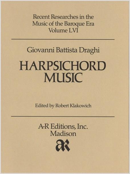 Draghi: Harpsichord Music