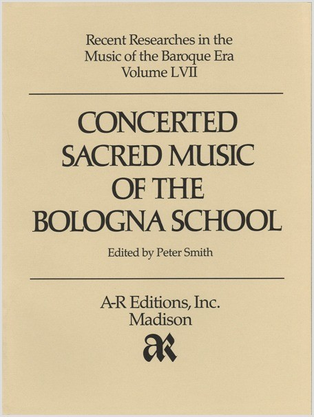 Concerted Sacred Music of the Bologna School