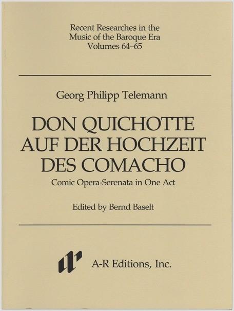 Telemann: Don Quichotte auf der Hochzeit des Comacho