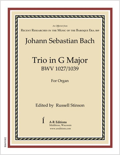 Bach: Trio in G Major
