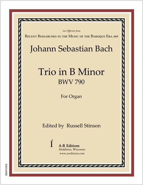 Bach: Trio in B Minor