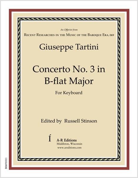 Tartini: Concerto No. 3 in B-flat Major
