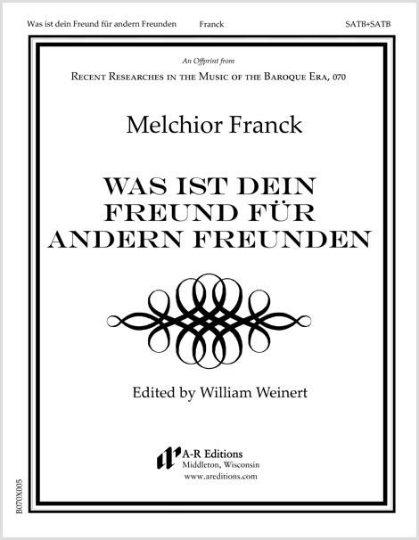 Franck: Was ist dein Freund für andern Freunden