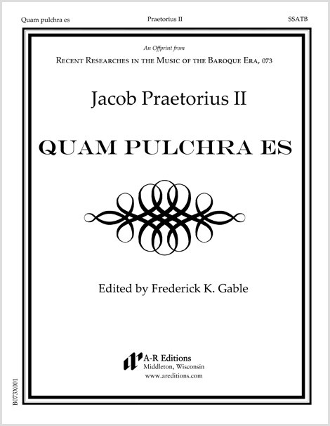 Praetorius II: Quam pulchra es