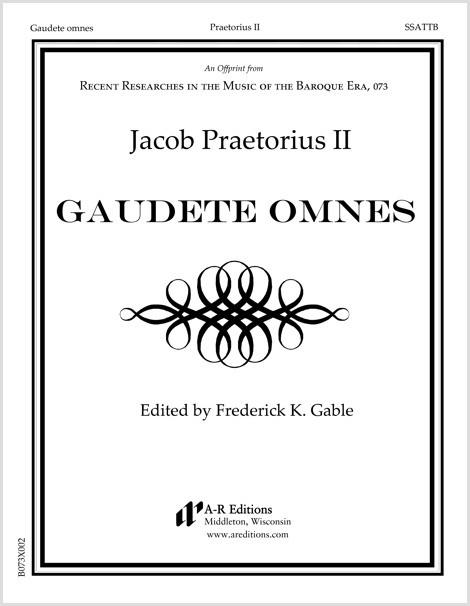 Praetorius II: Gaudete omnes