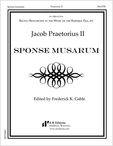 Praetorius II: Sponse musarum