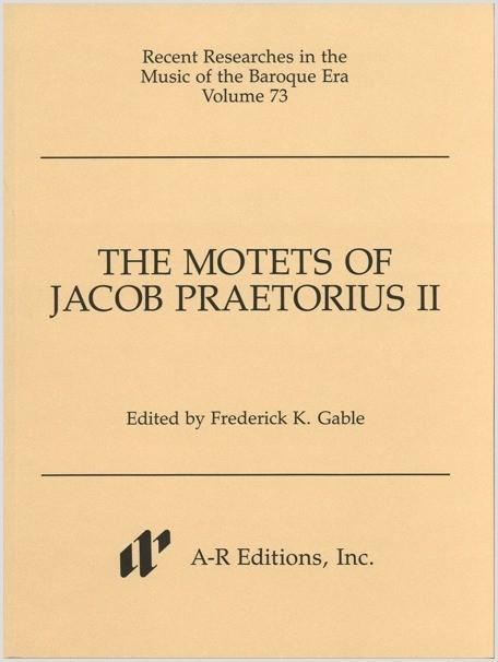 Praetorius II: Motets