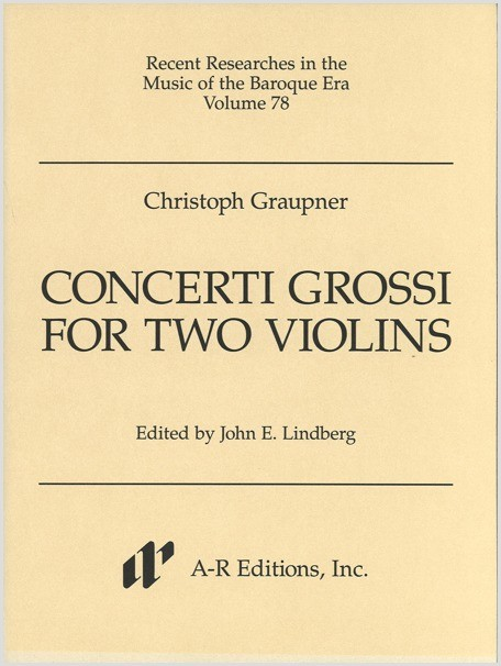 Graupner Concerti Grossi for Two Violins