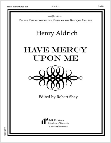 Aldrich: Have mercy upon me
