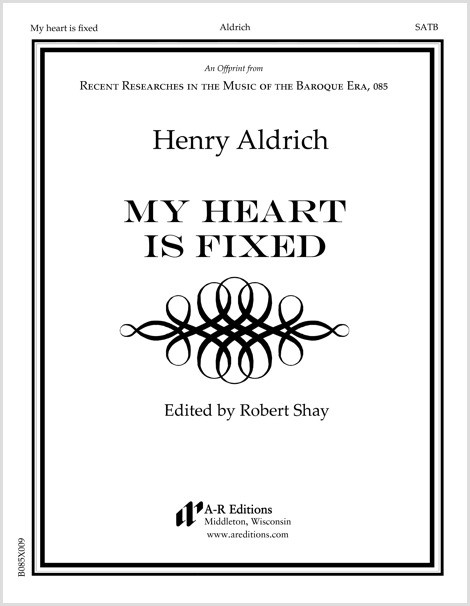 Aldrich: My heart is fixed
