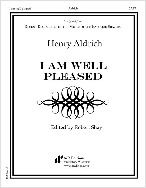 Aldrich: I am well pleased