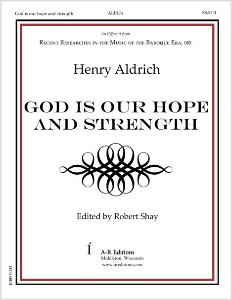 Aldrich: God is our hope and strength