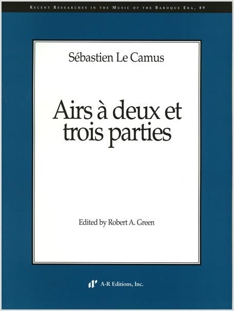 Le Camus: Airs à deux et trois parties