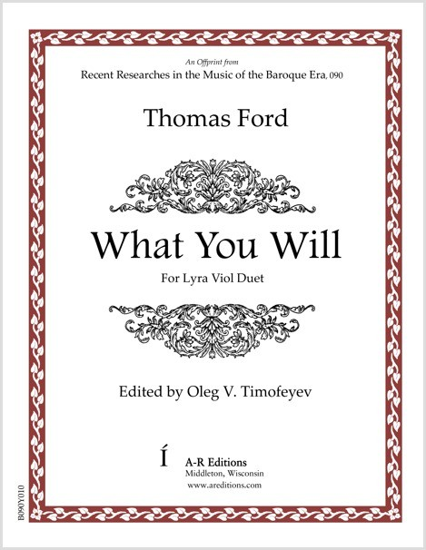 Ford: What You Will