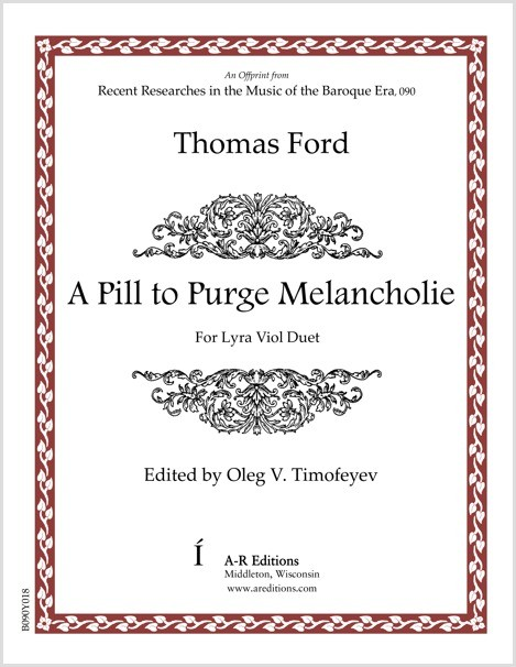 Ford: A Pill to Purge Melancholie